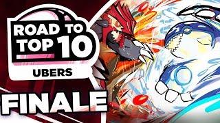 THE FINALE! Pokemon Showdown Road to Top Ten: Pokemon Ultra Sun & Moon Ubers w/ PokeaimMD #15 by PokeaimMD