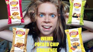 WEIRD POTATO CHIP CHALLENGE