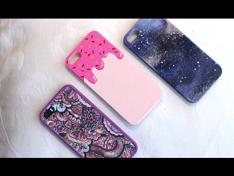 DIY cover smartphone - Creare le cover per cellulare da soli (con smalti)