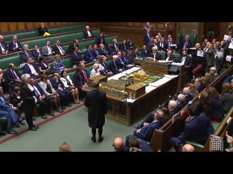Großbritannien: Proteste im Unterhaus gegen die Parlamentspause