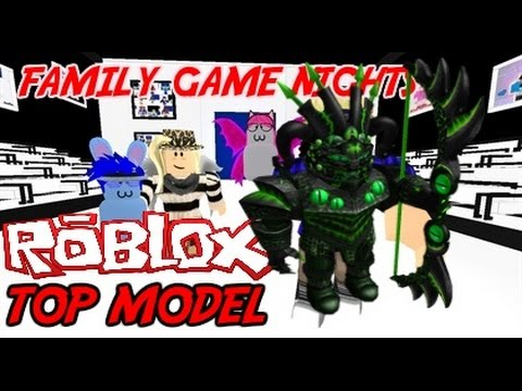 Family Game Nights Plays: Roblox's Top Model (PC)