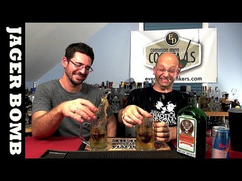 Jager Bomb, HOW-TO