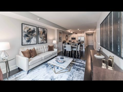 A 1-bedroom plus den model at 850 Lake Shore Drive