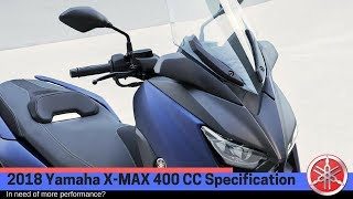 2. 2018 Yamaha X MAX 400 Spesification