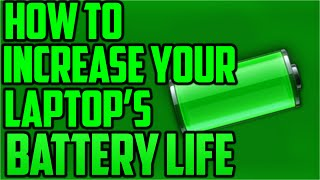 Just a few steps you can do so that you can use your laptop for a longer time! Hope this helps :D CAN WE HIT 5 LIKES??Become an ElectroMagnet: www.youtube.com/c/ElectricStreak1///Music: Mendum - Elysium [ncs release]I Do not own the music in this video, all credits go to the rightful owner.///Intro maker: DeFencyChannel art: Align Dreamshttps://www.youtube.com/user/aligndreams///Talk to me:twitter: https://twitter.com/ItsTheStreakSkype: electricstreak///Partner now with the Ziovo Networkhttps://www.freedom.tm/via/ElectricStreakZiovo Network is a network dedicated to helping smaller channels get the essentials that they need, while providing other benefits for larger channels. We supply free to use gameplay and graphics for our partners and much more! We want to help you grow and you can do so by joining our collab chat on Skype where there is a really warm and welcoming environment. Ziovo Network wants to turn you into something big.///THANKS FOR WATCHING!!!