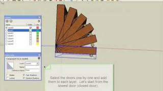 Video SketchUp open door animation MP3, 3GP, MP4, WEBM, AVI, FLV Desember 2017