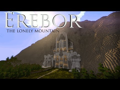 Erebor the lonely mountain minecraft project for How to build a house in a mountain