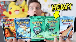 I Open *HEAVY* Skyridge, Base Set & EX Series Pokémon Packs!! (UNREAL) by Unlisted Leaf