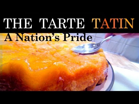 "The Almighty French ""Tarte Tatin"" Aka Upside-Down Apples Tart !"