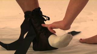 Training video on how to properly fit the Trainers Choice 205 SAO Stabilizing Ankle Brace. Visit www.trainerschoice.ca for details on this and other braces.