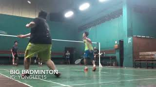 Video Fatboy Make Court Earthquake, But Have A Amazing Skill Play Like A Pro Badminton!! Unbelievable!! MP3, 3GP, MP4, WEBM, AVI, FLV Maret 2019