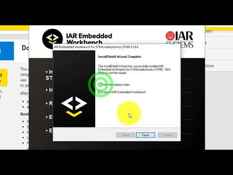 IAR Embedded Workbench: download, installation and getting license for STM8 microcontrollers.