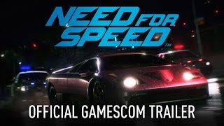 Need for Speed Official Gamescom Trailer PC, PS4, Xbox One, Need for Speed, video game