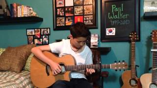 Video See You Again - Wiz Khalifa ft. Charlie Puth -Fingerstyle Guitar Cover - MP3, 3GP, MP4, WEBM, AVI, FLV Agustus 2018