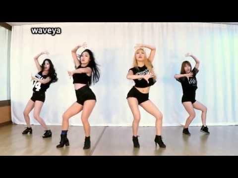 Gái Xinh Hàn Quốc Dance - Waveya Ailee Don't touch me