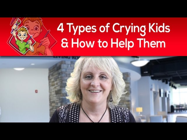 4 Types of Crying Kids & How To Help Them In Your Children's Ministry