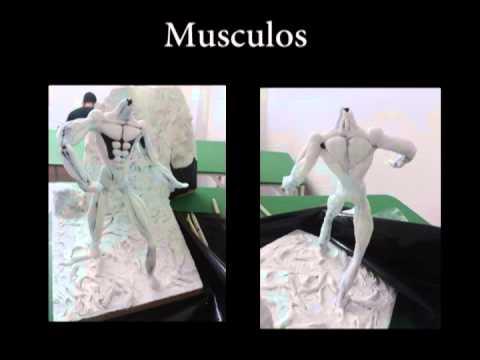 porcelanicron - Esto fue un trabajo hecho en porcelanicron sobre el personaje de un futuro vídeo juego, explico desde los bocetos, estructuras base, relleno y detalles. Espe...