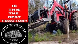 1. Mahindra tractor...4540 4wd///2019