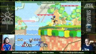 Apex 2013 L11: One of the best Mew2King matches of all time. If you haven't seen it, check it out.