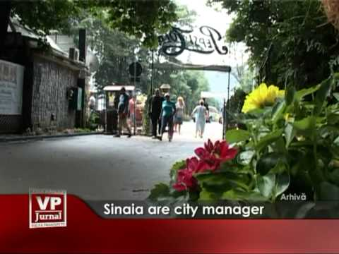 Sinaia are city manager