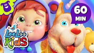 """Subscribe to our channel because new videos are uploaded every week! http://bit.ly/Subscribe_to_LooLooKidsYou are watching """"Bingo"""", a super fun compilation with the best animated nursery rhymes created by LooLoo Kids and Hello Mr. Freckles!Follow us on Facebook for new updates! https://www.facebook.com/LooLooKids/Tweet to us! https://twitter.com/loolookidsWe are always happy to hear from you! Please share your feedback on our nursery rhymes in the comments or through our social media!Go to your favorite song by selecting a title below!0:00 Bingo (Hello Mr. Freckles!) 2:24 Old MacDonald Had a Farm (Hello Mr. Freckles!) 3:41 Five Little Ducks (Hello Mr. Freckles!) 6:03 Head, Shoulders, Knees and Toes (Hello Mr. Freckles!) 8:05 Pat-a-Cake 9:02 If You're Happy and You Know It 10:41 Rain, Rain, Go Away 12:56 Five Little Monkeys 15:09 Sleeping Bunnies 17:00 The ABC Song 18:19 Old MacDonald Had a Farm 19:38 Baa, Baa, Black Sheep 20:47 Hickory Dickory Dock 23:12 The Wheels On The Bus (Hello Mr. Freckles!) 25:20 Humpty Dumpty 26:34 Ten in a Bed 29:01 BINGO 30:58 Five Little Ducks  32:31 Itsy Bitsy Spider (Hello Mr. Freckles!) 34:19 Head, Shoulders, Knees and Toes 35:46 I'm a Little Teapot 37:00 Johny Johny Yes Papa 38:31 Mary Had a Little Lamb 40:41 Row Your Boat (Hello Mr. Freckles!) 42:41 Miss Polly Had a Dolly 44:03 Once I Caught a Fish Alive 46:01 One, Two, Buckle My Shoe 47:00 If You're Happy and You Know It (Hello Mr. Freckles!) 49:01 Twinkle, Twinkle, Little Star (Hello Mr. Freckles!) 51:30 The Finger Family 52:32 The Wheels On The Bus 54:37 Three Little Kittens 56:56 Twinkle, Twinkle, Little StarBingo LyricsThere was a farmer, had a dog,and Bingo was his name-o.B-I-N-G-OB-I-N-G-OB-I-N-G-OAnd Bingo was his name-o.There was a farmer had a dog,and Bingo was his name-o.(clap)-I-N-G-O(clap)-I-N-G-O(clap)-I-N-G-OAnd Bingo was his name-o.There was a farmer had a dog,and Bingo was his name-o.(clap)-(clap)-N-G-O(clap)-(clap)-N-G-O(clap)-(clap)-N-G-OAnd Bingo was his name-o.Th"""