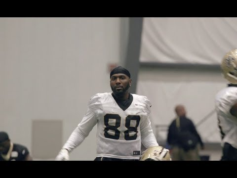 First look at Dez Bryant in a New Orleans Saints uniform