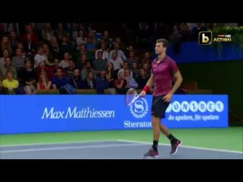 numero incredibile all'atp stockholm - grigor dimitrov