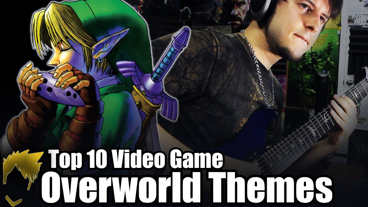 Top 10 Video Game Overworld Themes – Guitar Medley (FamilyJules7x)