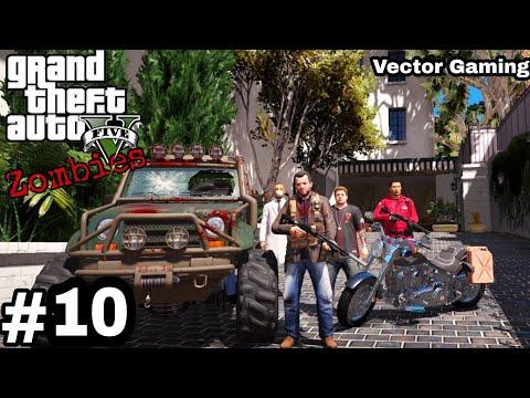 GTA 5 : Zombie Apocalypse Episode 10|| GTA 5 Gameplay In Hindi ||