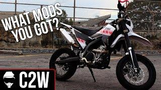 9. Yamaha WR250x Mods list | Tea's upgrades!