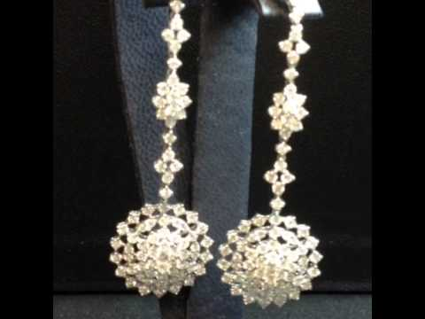 Dalia Diamonds Dangling Earrings