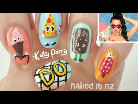 katy perry - this is how we do - nail art