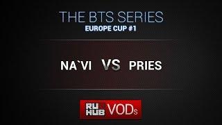 Na'Vi vs PRIES, game 1