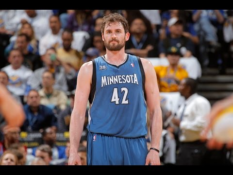 Video: Kevin Love Top 10 Plays of Timberwolves Career!
