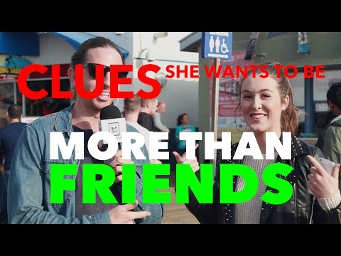Clues She Wants To Be More Than Friends (Street Interviews) (видео)