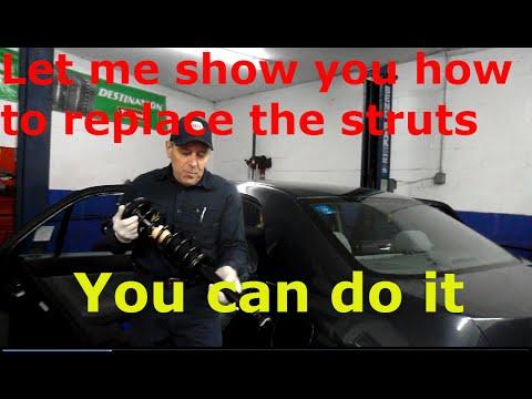 Replace rear struts on a 2003 Honda Accord