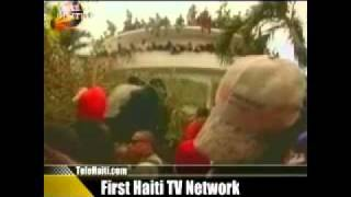 President Aristide Retour En Haiti En Direct TNH Via Tele Haiti - Aristide Is Back - Haiti News #5