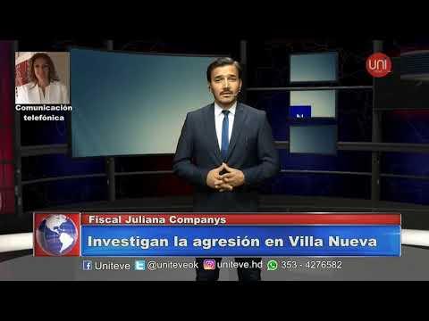 Joven agredido en Villa Nueva ( le partieron el cráneo con un ladrillo)