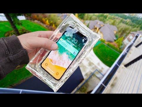 iPhone X Ballistic Gel Drop Test! - Mous Limitless Case Review (видео)
