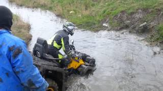 10. Polaris Sportsman 850 XP vs Can am Outlander max 800r 2013