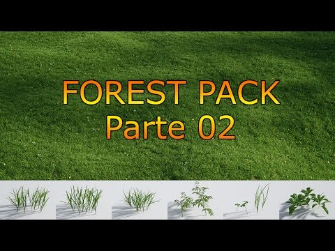 Tutorial Forest Pack en Español - 02 Cesped Realista