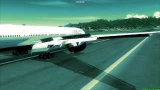 FSX - Delta Boeing 777-200LR landing in Princess Juliana International AirportPlease Subscribe for more videosFeel free to comment and tell me where I could improve on my videosThings Used For My VideoCaptain Sim 777 Base PackFlytampa St Maarten CompleteFS water ConfiguratorFrapsSony Vegas