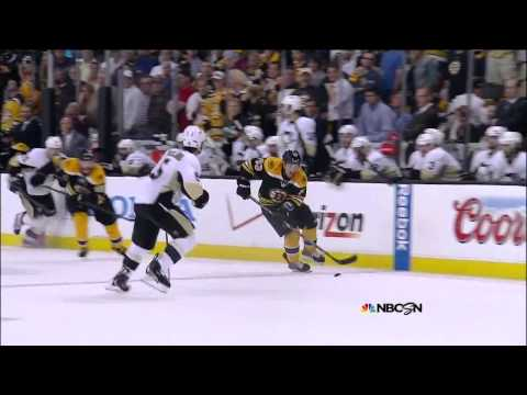 Patrice Bergeron 2nd OT tip in goal 2-1. 6/5/13 Pittsburgh Penguins vs Boston Bruins NHL Hockey