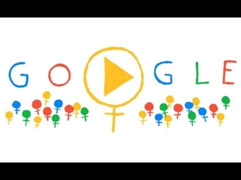 Anche il soccorso negli auguri di Google alle donne