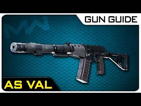 AS VAL Stats & Best Attachments! | Modern Warfare Gun Guide #48