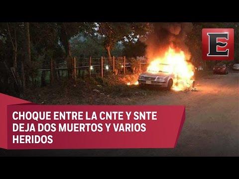 Asamblea de la CNTE en Chiapas acaba en balacera