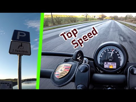 Top Speed Brixton BX 125 !!! GSXR-1000 FALSCH geparkt / MotoVlog