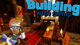 Building with fWhip :: CASTLE Feast Hall Interior :: #68 Minecraft 1.12 Single Player Survival