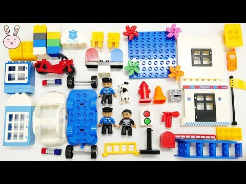 Police Station Assembly videos for kids | Police Car Toys for children | Build and Play | YapiTV Toy