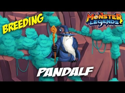 Monster Legends - How To Get Pandalf